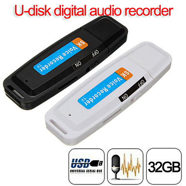 olcso Diktafonok-u-disk digitális hangrögzítő toll töltő usb flash meghajtó akár 32 GB micro sd tf kiváló minőségű sk001