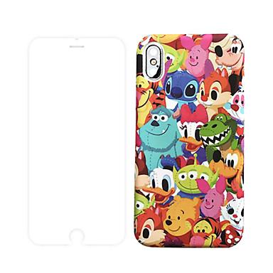 Недорогие Кейсы для iPhone 7 Plus-чехол с защитой экрана для apple iphone 11 / iphone 11 pro / iphone 11 pro max пылезащитный / матовый / с рисунком на задней обложке мультфильм ПК для iphone 7/7 p / 8/8 p / 6/6 plus / x / xs / xr /