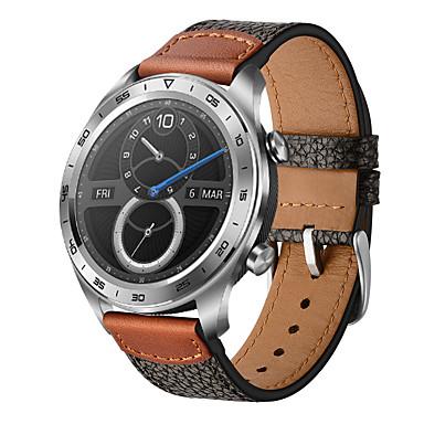 رخيصةأون أساور ساعات Huawei-نمط الحجر والجلود حزام ساعة لهواوي الشرف سحر 22mm رباط المعصم