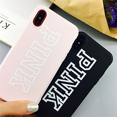 voordelige iPhone 6 Plus hoesjes-woord / zin tpu case voor Apple iPhone 11 pro max 8 plus 7 plus 6 plus max patroon achterkant