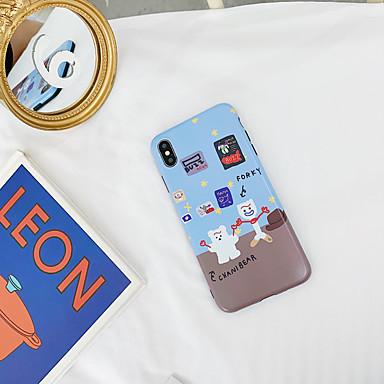 voordelige iPhone 6 hoesjes-hoesje Voor Apple iPhone XS / iPhone XR / iPhone XS Max IMD / Ultradun / Patroon Achterkant Cartoon TPU