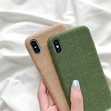 voordelige iPhone X hoesjes-hoesje Voor Apple iPhone 11 / iPhone 11 Pro / iPhone 11 Pro Max Ultradun Achterkant Effen TPU