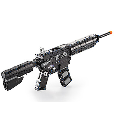 olcso 3D Puzzle-Jigsaw Puzzle Építőkockák DIY játékok Mesterlövész puska Műanyagok