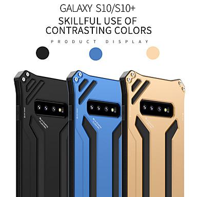 رخيصةأون حافظات / جرابات هواتف جالكسي S-غطاء من أجل Samsung Galaxy S9 / S9 Plus / S8 Plus ضد الصدمات غطاء خلفي لون سادة ألمنيوم