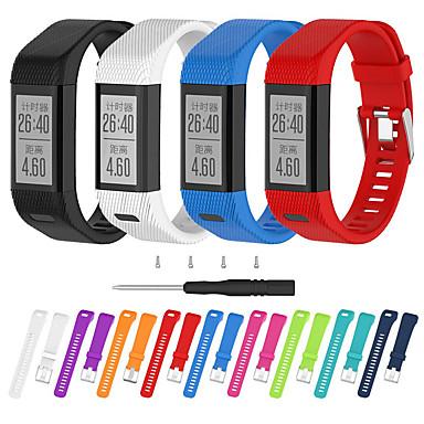 voordelige Smartwatch-accessoires-horlogeband voor vivosmart hr + (plus) garmin sportband / diy tools siliconen polsband