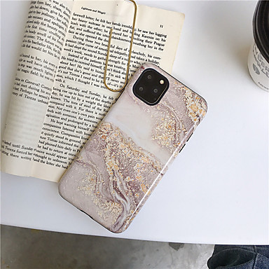 voordelige iPhone-hoesjes-hoesje Voor Apple iPhone 11 / iPhone 11 Pro / iPhone 11 Pro Max Patroon Achterkant Marmer TPU