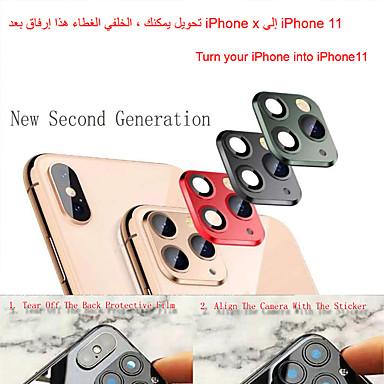 voordelige iPhone screenprotectors-toepasselijk iphone appel x seconden verandering 11 lens sticker xsmax gemodificeerd 11promax explosie gemodificeerde behuizing lens 11promax camera
