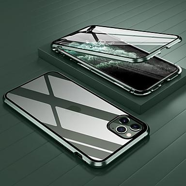رخيصةأون أغطية أيفون-غطاء من أجل Apple اي فون 11 / iPhone 11 Pro / iPhone 11 Pro Max ضد الصدمات / شفاف غطاء كامل للجسم شفاف زجاج مقوى