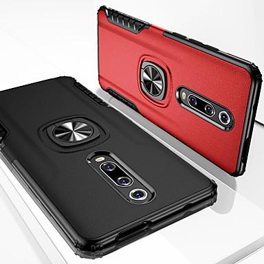povoljno Maske/futrole za Xiaomi-kožna oklopa magnetska futrola za telefon za xiaomi 9t pro k20 pro mi 9 se mi 8 lite mi 6x mi play otporna na tvrdo pc prekrivanje postolja za redmi 6 pro note 7 note 5 f1 redmi 5 plus silikon meka