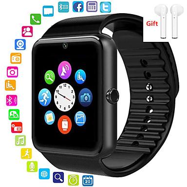 Недорогие Смарт-электроника-Indear M26 Мужчина женщина Смарт Часы Android iOS Bluetooth 2G Водонепроницаемый Сенсорный экран Спорт Израсходовано калорий Хендс-фри звонки