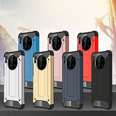 voordelige Huawei Mate hoesjes / covers-schokbestendig robuust hybride pantsertelefoonhoesje voor Huawei mate 30 mate 30 lite mate 30 pro mate 20 mate 20 lite mate 20 pro mate 10 mate 10 lite mate 10 pro