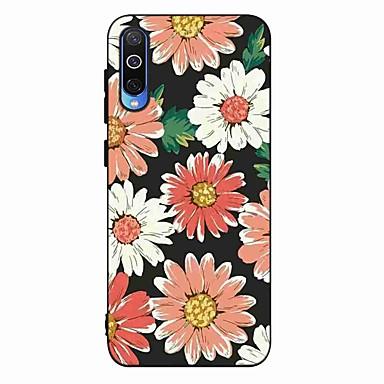 Недорогие Чехлы и кейсы для Galaxy S-Кейс для Назначение SSamsung Galaxy S9 / S9 Plus / S8 Plus Матовое / С узором Кейс на заднюю панель Цветы ТПУ