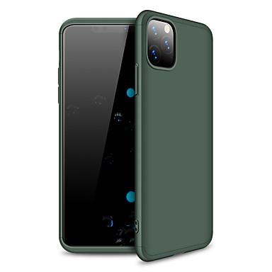 Недорогие Кейсы для iPhone 7-Кейс для Назначение Apple iPhone 11 / iPhone 11 Pro / iPhone 11 Pro Max Матовое Кейс на заднюю панель Однотонный пластик