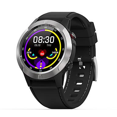 olcso Digitális karórák-Férfi Intelligens Watch Digitális Stílusos Valódi bőr Fekete 30 m Szívritmus monitorizálás Bluetooth Smart Digitális Divat - Fekete Aranyozott Szürke Egy év Akkumulátor élettartama