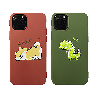 Недорогие Кейсы для iPhone 7 Plus-чехол для собаки / динозавра / с рисунком животных для Apple iphone 11 pro max 8 плюс 7 плюс 6 плюс max задняя крышка