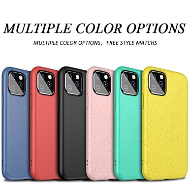 voordelige iPhone-hoesjes-all-inclusive hoesje voor Apple iPhone 11 / iPhone 11 Pro / iPhone 11 Pro Max Frost Full Body Hoesjes Effen TPU voor iPhone 7plus / iPhone 8 Plus / iPhone X / XS / XR / iPhone XS Max Shell Cover