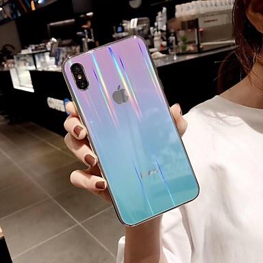 voordelige iPhone 6 Plus hoesjes-hoesje Voor Apple iPhone XS / iPhone XR / iPhone XS Max Ultradun / Patroon Achterkant Kleurgradatie TPU