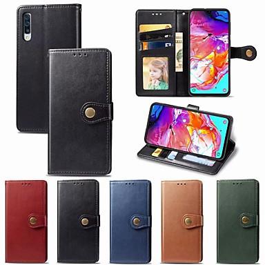 povoljno Samsung oprema-kožna futrola za futrolu za Samsung samsung galaxy a70 a50 a40 a30 a20 a10 a20e magnetska navlaka s poklopcem kartice