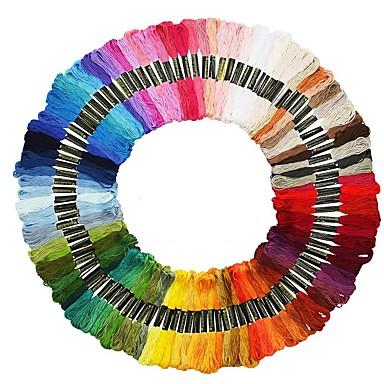 cheap Home Decor-100 Color Cross Stitch Threads The Unique Style DMC Anchor Cross Stitch Cotton Embroidery Cross Stitch Embroidery Sewing Thread