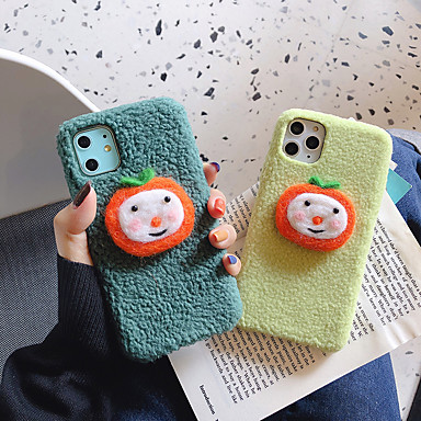 voordelige iPhone-hoesjes-hoesje Voor Apple iPhone 11 / iPhone 11 Pro / iPhone 11 Pro Max Patroon / DHZ Achterkant Voedsel / Cartoon / Pluche TPU