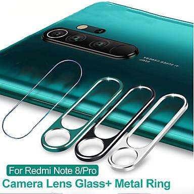 Недорогие Защитные плёнки для экранов Xiaomi-2 в 1 защитное кольцо для объектива камеры закаленное стекло пленка для xiaomi redmi note 8 pro
