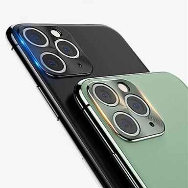 voordelige iPhone screenprotectors-voor iphone 11/11 pro achteruitrijcamera metalen ring geval 360 volledige dekking achteruitrijcamera lens screen protector voor iphone11pro max beschermende ring