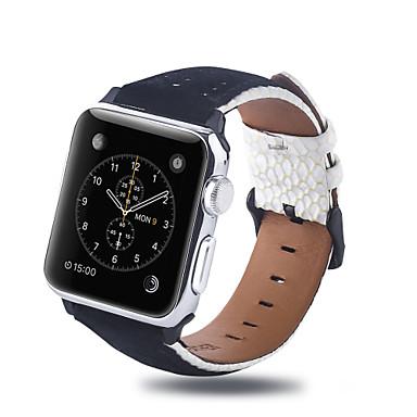 voordelige Smartwatch-accessoires-Horlogeband voor Apple Watch Series 5 / Apple Watch Series 4 / Apple Watch Series 3 Apple Zakelijke band Gewatteerd PU-leer Polsband