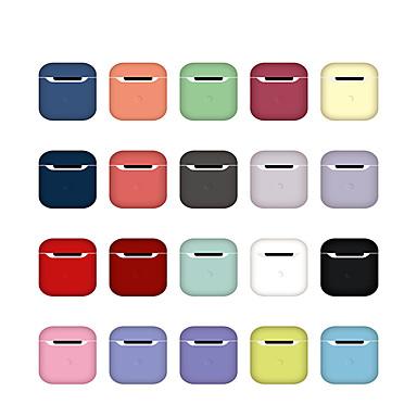 ieftine Accesorii Creative-suport de încărcare pentru airpods rezistent la șocuri / anti-praf / model cu căști de culoare solidă