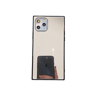 Недорогие Кейсы для iPhone 6 Plus-чехол для apple iphone 11 / iphone 11 pro / iphone 11 pro max ультратонкая задняя крышка сплошного цвета тпу