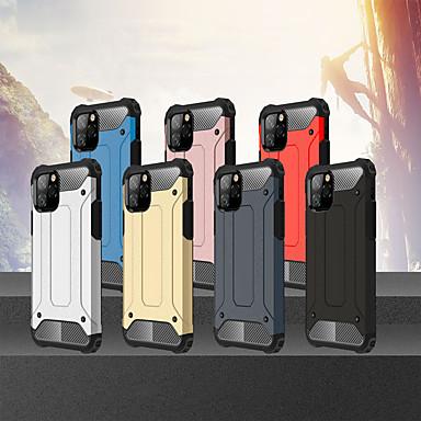 voordelige iPhone-hoesjes-hoesje Voor Apple iPhone 11 / iPhone 11 Pro / iPhone 11 Pro Max Schokbestendig Achterkant Schild TPU / PC