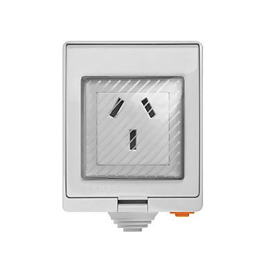 お買い得  スマートホーム-sonoff s55 tpf-de wi-fi防水スマートソケット-auプラグ