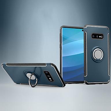 Недорогие Чехлы и кейсы для Galaxy S-Кейс для Назначение SSamsung Galaxy Galaxy S10 / Galaxy S10 Lite / Galaxy S10 5G Защита от удара / Кольца-держатели Кейс на заднюю панель броня ПК