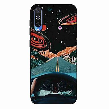 voordelige Galaxy S-serie hoesjes / covers-hoesje Voor Samsung Galaxy S9 / S9 Plus / S8 Plus Mat / Patroon Achterkant Landschap TPU