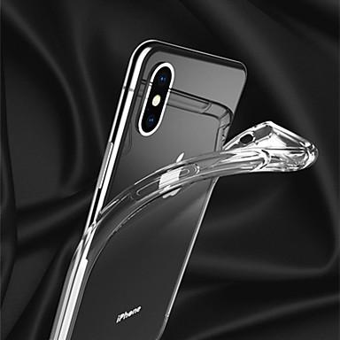 voordelige iPhone-hoesjes-toepasselijk Apple iPhonexs mobiele telefoon hoesjes xsmax beschermhoes xr airbag valbestendig transparant soft shell 6d transonisch gat