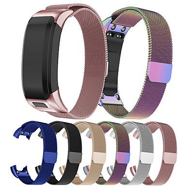 olcso Nézd Zenekarok Garmin-smartwatch sáv a Garmin vivosmart hr-hez (plusz) / megközelítés x 10 / x40 milanese hurok rozsdamentes acél szalag csuklópánt
