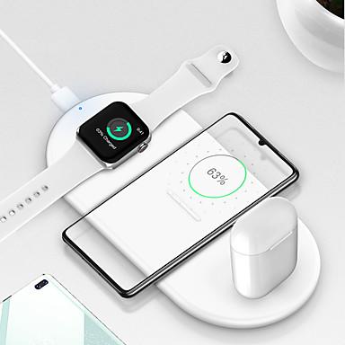 Недорогие Аксессуары для смарт-часов-Беспроводное зарядное устройство Зарядное устройство USB USB Зарядное устройство и аксессуары 1 USB порт 2 A DC 5V для Apple Watch Series 4 / Apple Watch Series 4/3/2/1 / Apple Watch Series 2 Apple