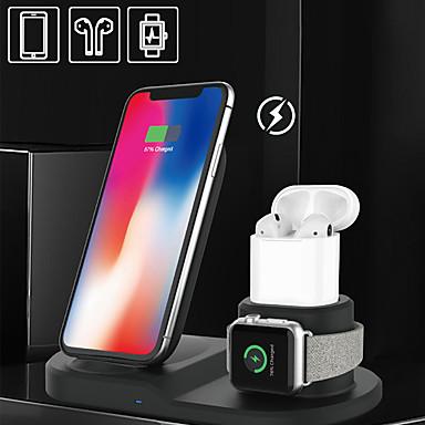 voordelige Smartwatch-accessoires-snel draadloos oplaadstation 3 in 1 qi snel draadloos oplaadstation