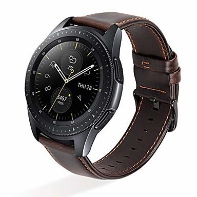 olcso Nézd Zenekarok Garmin-smartwatch sáv garmin vivomove / vivomove óra / vivomove apac / garmin mozgatni bőr hurok valódi bőr szalag 20mm csuklópánt
