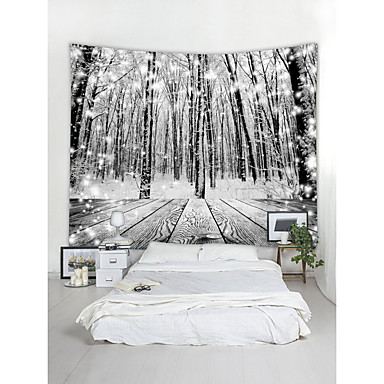 رخيصةأون جدارية-زهريFloral Theme / كلاسيكيClassic Theme جدار ديكور 100 ٪ بوليستر معاصر جدار الفن, سجاد الحائط زخرفة