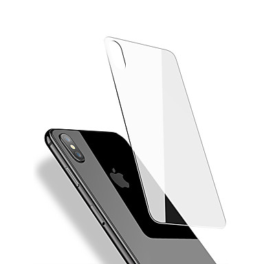 voordelige iPhone screenprotectors -full screen cover 9h hard back screen protector gehard glas voor iphone x dorsaal membraan