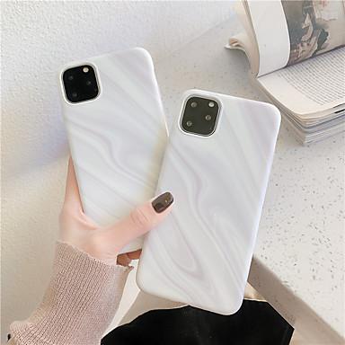 Недорогие Кейсы для iPhone 6-Кейс для Назначение Apple iPhone 11 / iPhone 11 Pro / iPhone 11 Pro Max IMD / С узором Кейс на заднюю панель Мрамор ТПУ