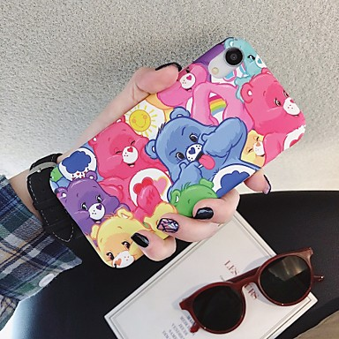 cheap iPhone Cases-Case For Apple iPhone 11 / iPhone 11 Pro / iPhone 11 Pro Max Frosted / Pattern Back Cover Animal / Cartoon PC