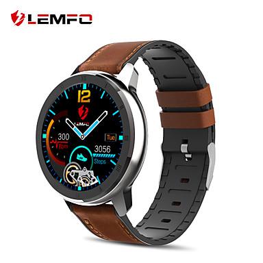 رخيصةأون ساعات ذكية-lemfo elf2 ecg ppg سمارت ووتش شاشة تعمل باللمس الكامل معدل ضربات القلب مراقبة ضغط الدم للماء smartwatch الرجال النساء لالروبوت
