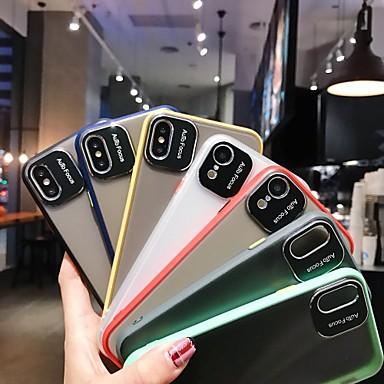 voordelige iPhone-hoesjes-hoesje Voor Apple iPhone 11 / iPhone 11 Pro / iPhone 11 Pro Max Doorzichtig Achterkant Effen PC