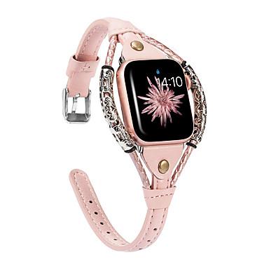 povoljno Apple Watch remeni-Pogledajte Band za Apple Watch Series 5/4/3/2/1 Apple Poslovni bend Prava koža Traka za ruku