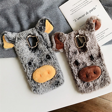 cheap Samsung Case-Case For Samsung Galaxy Galaxy A9(2018) Shockproof Back Cover Plush TPU / Cotton Fabric