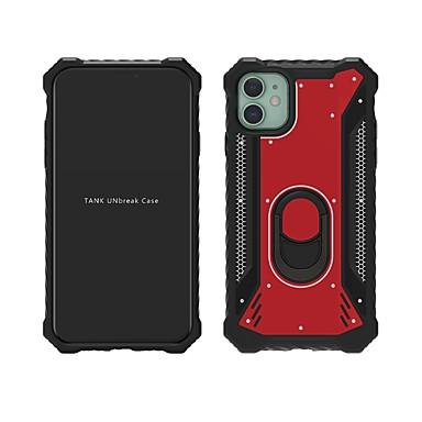 Недорогие Кейсы для iPhone X-чехол для iphone 11 / iphone 11 pro / iphone 11 pro max ударопрочный / пыленепроницаемый / с подставкой и задней крышкой броня ТПУ / ПК / металлический чехол для iphone xs max / xr / xs / x / iphone 8