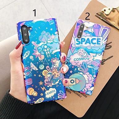 Недорогие Чехлы и кейсы для Galaxy Note-Кейс для Назначение SSamsung Galaxy S9 / S9 Plus / S8 Plus С узором Кейс на заднюю панель Мультипликация пластик
