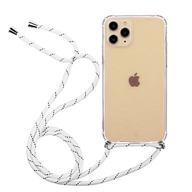 Недорогие Кейсы для iPhone X-Кейс для Назначение Apple iPhone 11 / iPhone 11 Pro / iPhone 11 Pro Max Защита от удара / Защита от пыли / Ультратонкий Кейс на заднюю панель Прозрачный Акрил