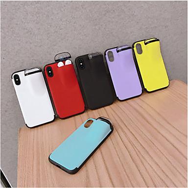 Недорогие Кейсы для iPhone 7 Plus-Apple 11 мобильный телефон чехол для хранения Bluetooth-гарнитура 11pro макс нетто-красный с XS Max индивидуальный творческий 6/7 / 8plus многоцелевой наборы мобильных телефонов пара моделей защитная
